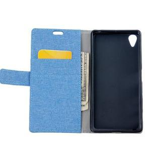 Texture puzdro pre mobil Sony Xperia X - modré - 6