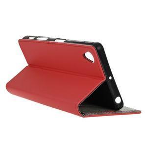 Walle Peňaženkové puzdro pre Sony Xperia X - červené - 6