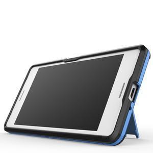 Odolný kryt na mobil Sony Xperia X - světlemodrý - 6