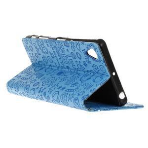 Cartoo Peňaženkové puzdro pre Sony Xperia X - modré - 6