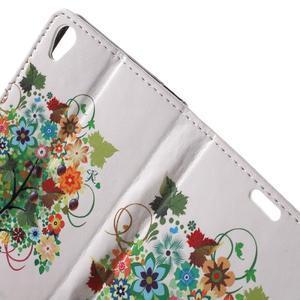 Emotive pouzdro na mobil Sony Xperia XA - květinový strom - 6