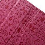 Cartoo peněženkové pouzdro na mobil Sony Xperia XA - rose - 6/7