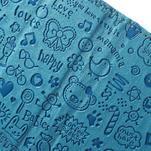 Cartoo peněženkové pouzdro na mobil Sony Xperia XA - modré - 6/6
