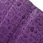 Cartoo Peňaženkové puzdro pre mobil Sony Xperia XA - fialové - 6/7