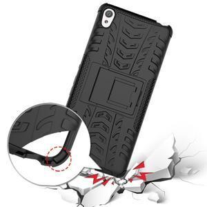 Outdoor odolný obal na mobil Sony Xperia XA - černý - 6