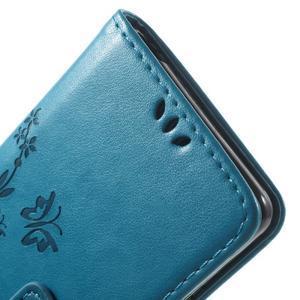 Butterfly puzdro pre mobil Sony Xperia XA - modré - 6