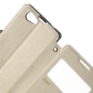 Okýnkové pouzdro na mobil Sony Xperia Z1 Compact - bílé - 6