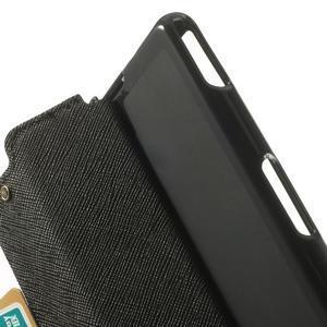 Okýnkové pouzdro na mobil Sony Xperia Z1 Compact - černé - 6