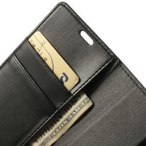 Sonata PU kožené puzdro pre mobil Sony Xperia Z1 Compact - čierne - 6