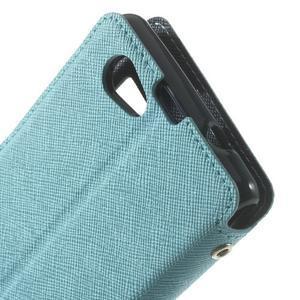 Okýnkové pouzdro na mobil Sony Xperia Z1 Compact - světlemodré - 6
