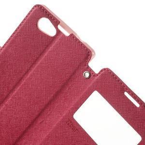 Okýnkové pouzdro na mobil Sony Xperia Z1 Compact - rose - 6