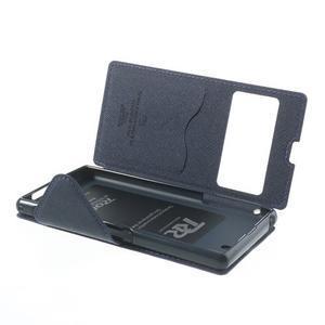 Okýnkové pouzdro na mobil Sony Xperia Z1 - fialové - 6