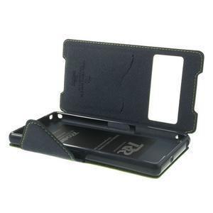Okýnkové puzdro pre mobil Sony Xperia Z2 - zelené - 6