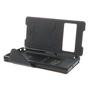 Okýnkové puzdro pre mobil Sony Xperia Z2 - červené - 6