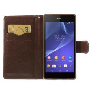 Květinové pouzdro na mobil Sony Xperia Z2 - černé - 6