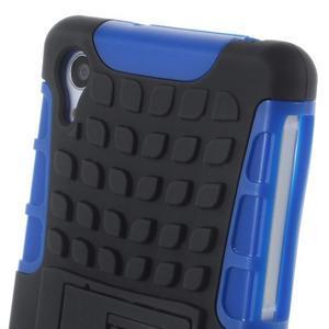 Outdoor odolný kryt pre mobil Sony Xperia Z2 - modrý - 6