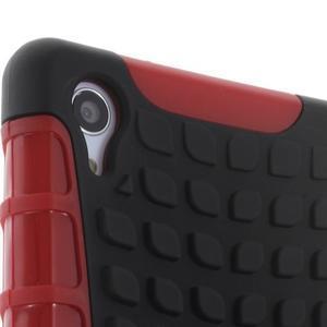 Outdoor odolný kryt pre mobil Sony Xperia Z2 - červený - 6