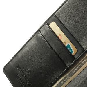 Sonata PU kožené pouzdro na mobil Sony Xperia Z2 - černé - 6