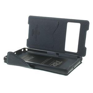 Okýnkové pouzdro na mobil Sony Xperia Z2 - světlemodré - 6
