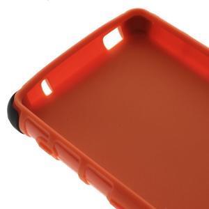 Odolný ochranný kryt pre Sony Xperia Z3 Compact - oranžový - 6