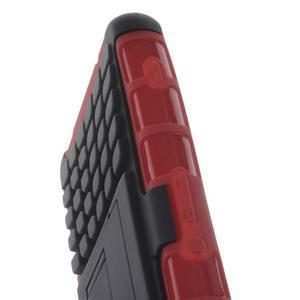 Odolný ochranný kryt pre Sony Xperia Z3 Compact - červený - 6