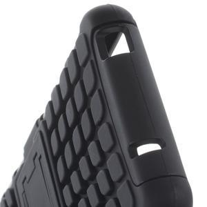Odolný ochranný kryt na Sony Xperia Z3 Compact - černý - 6