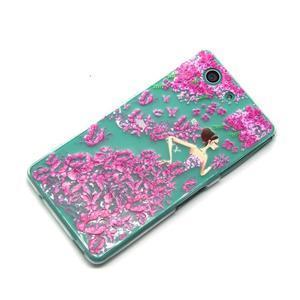Gelový obal na mobil Sony Xperia Z3 Compact - motýlí dívka - 6