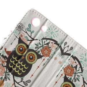Pictu peněženkové pouzdro na Sony Xperia Z3 Compact - sovička - 6