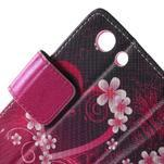 Pictu peněženkové pouzdro na Sony Xperia Z3 Compact - srdce - 6/7