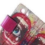 Pictu peněženkové pouzdro na Sony Xperia Z3 Compact - oko - 6/7
