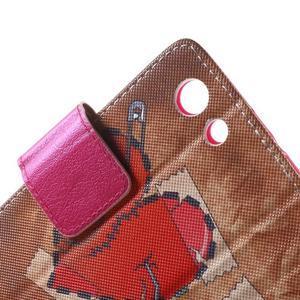 Pictu peněženkové pouzdro na Sony Xperia Z3 Compact - zlomené srdce - 6