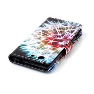 Emotive knížkové puzdro pre Sony Xperia Z3 Compact - barevná púpava - 6