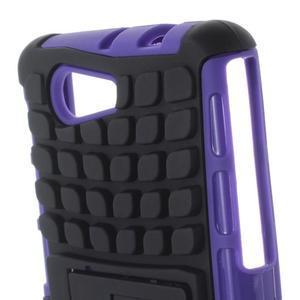 Odolný ochranný kryt pre Sony Xperia Z3 Compact - fialový - 6