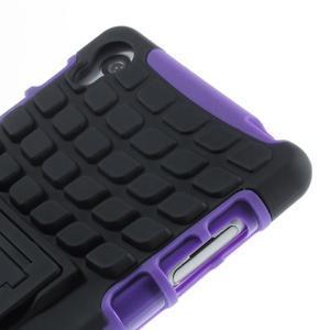 Outdoor ochranný kryt na mobil Sony Xperia Z3 - fialový - 6