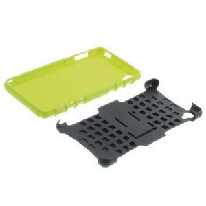 Outdoor ochranný kryt pre mobil Sony Xperia Z3 - zelený - 6