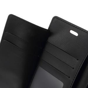 Luxury PU kožené pouzdro na mobil Sony Xperia Z3 - hnědé - 6