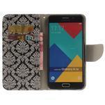 Patt peňaženkové puzdro pre Samsung Galaxy A3 (2016) - kvetinová tapeta - 6/7