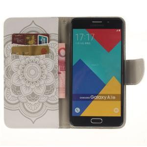 Patt peňaženkové puzdro pre Samsung Galaxy A3 (2016) - henna - 6