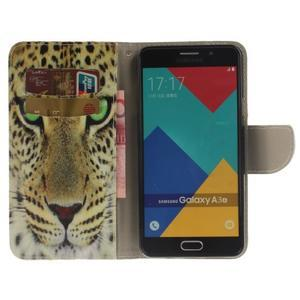 Patt peňaženkové puzdro pre Samsung Galaxy A3 (2016) - leopard - 6