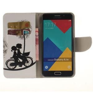 Patt peněženkové pouzdro na Samsung Galaxy A3 (2016) - na kole - 6
