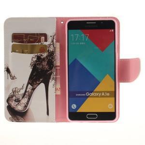 Patt peněženkové pouzdro na Samsung Galaxy A3 (2016) - pekelné střevíc - 6