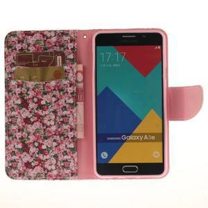 Patt peněženkové pouzdro na Samsung Galaxy A3 (2016) - růže - 6