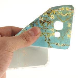 Silk gélový kryt pre mobil Samsung Galaxy A3 (2016) - rozkvetlý strom - 6