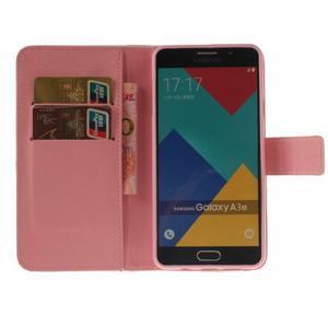 Puzdro pre mobil Samsung Galaxy A3 (2016) - červené pierko - 6