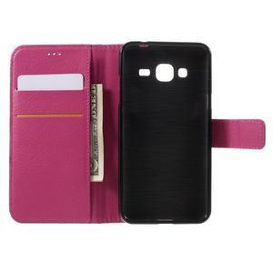 Peňaženkové puzdro pre mobil Samsung Galaxy J3  (2016) - rose - 6