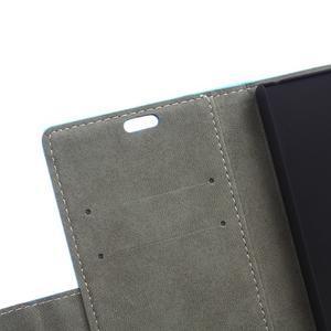 Wall peňaženkové puzdro pre Samsung Galaxy Trend 2 Lite - modré - 6