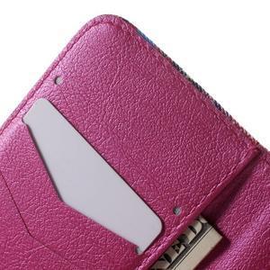 Peňaženkové puzdro pre Samsung Galaxy Trend 2 Lite - farebné kruhy - 6