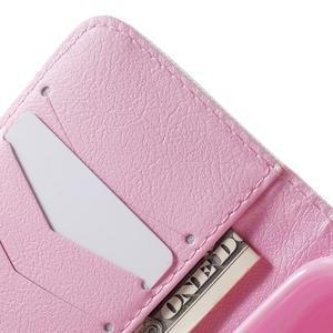 Peněženkové pouzdro na Samsung Galaxy Trend 2 Lite - kvetoucí větvička - 6