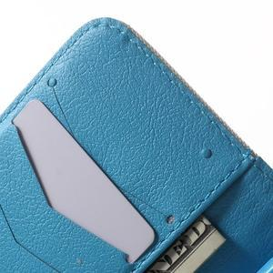 Peňaženkové puzdro pre Samsung Galaxy Trend 2 Lite - modrý slon - 6