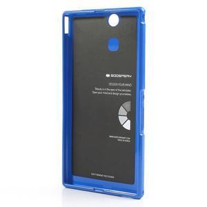 JellyGospery gélový obal pre mobil Sony Xperia Z Ultra - modrý - 6